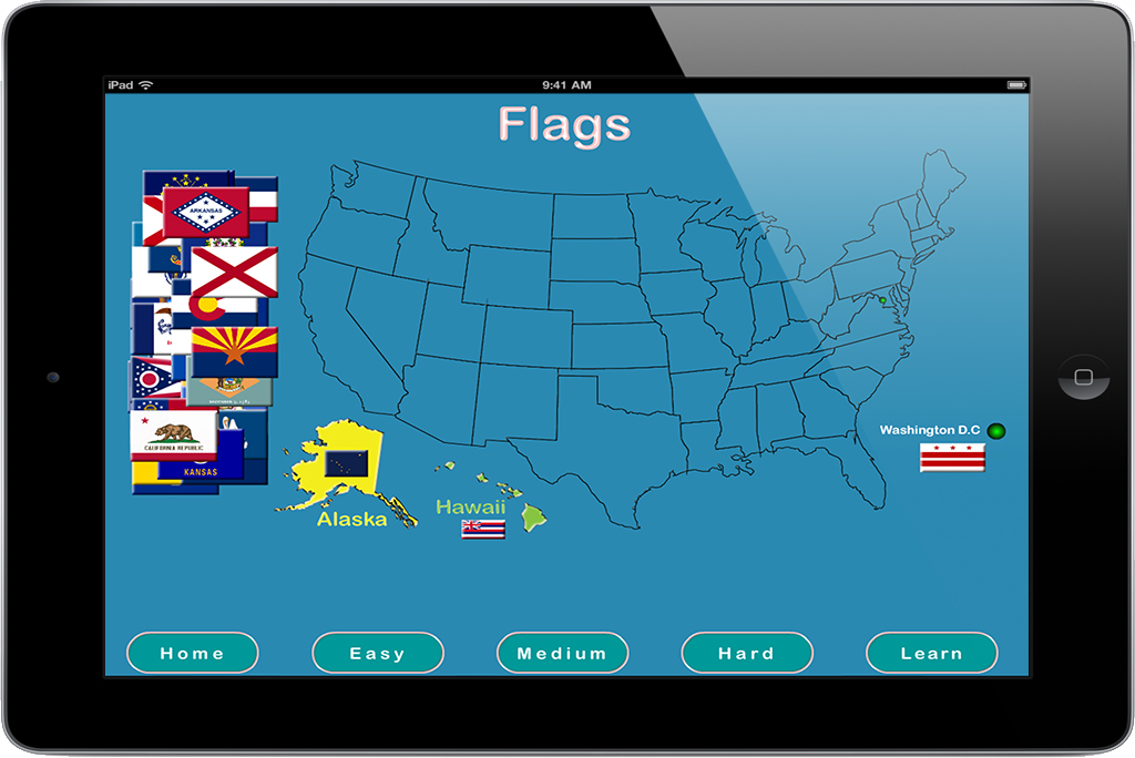 PairPlay - Educational App Game - USA for iPad